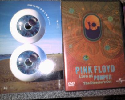 Mis dvds de Pink Floyd