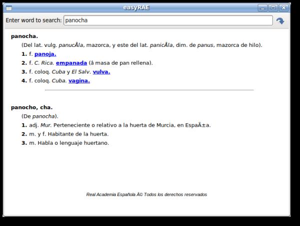 easyRAE alpha version 0.1