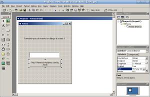 Microsoft Visual Basic 6 on Linux