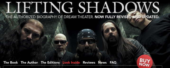 Dream Theater - Lifting Shadows Authorized Biography